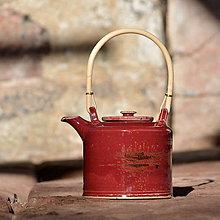Nádoby - Čajová konvička Kostka 2l - v kraji vína - 10462142_