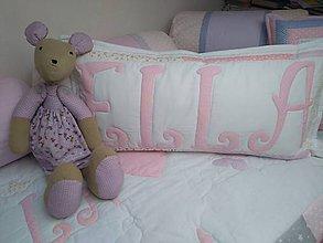 Úžitkový textil - Vankúš s menom - 10461643_