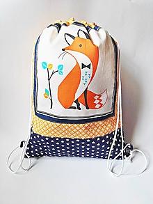 Detské tašky - Detský batoh, ruksak, vak - Fox - 10463680_