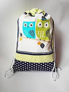 Detské tašky - Detský batoh, ruksak, vak - Sovičky - 10463717_
