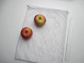Úžitkový textil - Zero waste vrecúška na ovocie a zeleninu (42 x 32 cm) - 10461702_