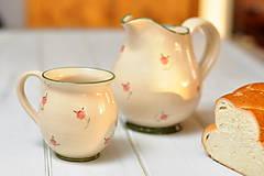 Nádoby - Romantický džbán - 10463693_
