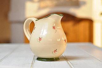 Nádoby - Romantický džbán - 10463692_