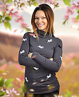 Mikiny - Mikina Black Cat - skladom S - 10460846_