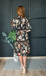 Šaty - Gypsy Dyona šaty z prírodných materiálov - 10462581_