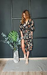 Šaty - Gypsy Dyona šaty z prírodných materiálov - 10462582_