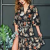 Šaty - Gypsy Dyona šaty z prírodných materiálov - 10462646_