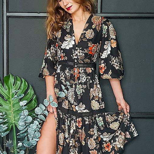 Gypsy Dyona šaty z prírodných materiálov