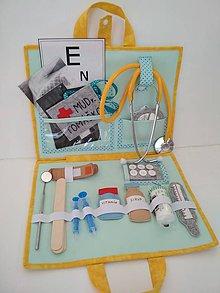 Hračky - Lekársky kufrík v plnej výbave - 10460725_