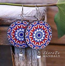 Náušnice - Mandala Iznik - 10463223_