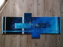 Obrazy - Wall Decor art abstrakt - 10462821_