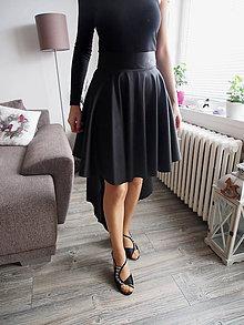 Sukne - Asymetrická sukňa kruhová - 10463397_