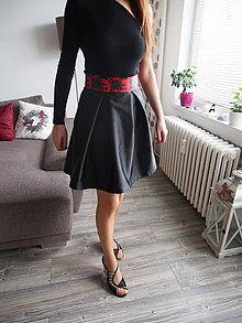 Sukne - Skladaná sukňa - 10463420_
