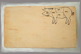 Pomôcky - doska na krájanie - mäsová - 10462143_