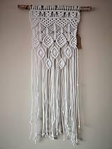 Dekorácie - Závesná dekorácia - Makramé - 10462214_
