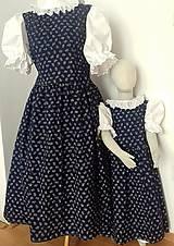 Šaty - Ľudová súprava pre mammu a dcéru - 10461823_