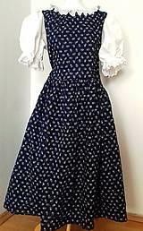 Šaty - Ľudová súprava pre mammu a dcéru - 10461827_