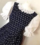 Šaty - Ľudová súprava pre mammu a dcéru - 10461832_