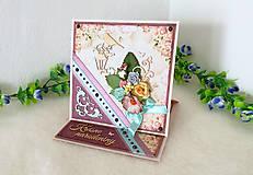 Papiernictvo - Pohľadnica pre dámu v krabičke - 10464032_