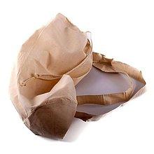 Polotovary - Plátený ruksak, 38x46 cm - 10464698_