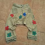 Nohavice - Haremky pestrokveté- zľava z 39,50 - 10465157_