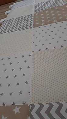 Úžitkový textil - Zástena za posteľ ... patchwork - 10465894_