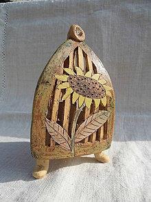 Dekorácie - Lampáš slnečnicový - 10465413_
