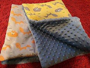 Textil - Detská deka v Lese - 10465710_
