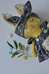 Hračky - Zajka bodkovana 2. - 10466118_