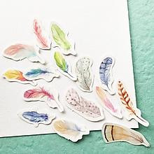 Papier - papierové nálepky Pierka - 10464515_