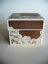 Krabičky - darčeková krabička - 10465102_