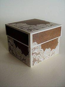 Krabičky - darčeková krabička - 10465101_