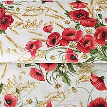 Textil - pevné režné plátno Maky, šírka 140 cm - 10465205_