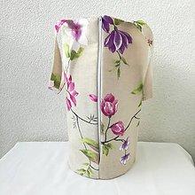 Iné tašky - taška na obedár kvety 06 - 10467262_