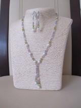 Sady šperkov - Swarovski - sada šperkov v jarných farbách - chirurgická oceľ - 10465463_