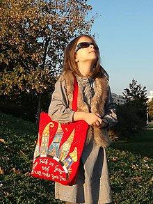 Detské tašky - taška s povzbudzujúcim textom - 10465259_