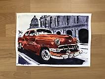 Obrazy - Červeny Chevrolet - 10465633_