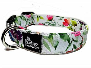Pre zvieratká - Obojok Spring Romantic - 10464732_