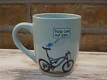 Nádoby - Hrnček - Make Love Not Cars MTB - 10467550_