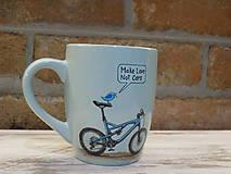 Nádoby - Hrnček - Make Love Not Cars MTB - 10467551_