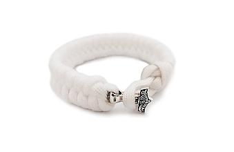 """Iné šperky - Paracord náramok """"Thorovo kladivo """" (Striebro925) - 10465237_"""