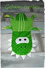 Hračky - Spinkáčik krokodíl - 10467397_