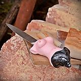Nože - Na slaninku - nôž pre muža - 10467189_
