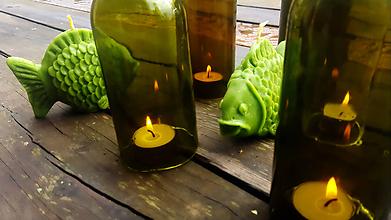 Svietidlá a sviečky - Kapr na suchu:-) - 10467238_