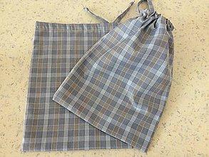 Úžitkový textil - Textilní sáček-malý - 10466215_