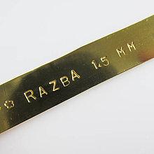 Nezaradené - Ražba Abecedy (ABC abc 123 / 1,5mm) - 10466613_