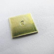 Nezaradené - Ražba Sada 02 (Mesiačik plný 3mm) - 10466704_