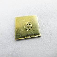 Nezaradené - Ražba Sada 02 (Srdiečko na zámok 4mm) - 10466712_