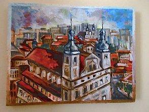 Obrazy - Pohľad z Neba na históriu a súčasnosť Trnavy. - 10467363_