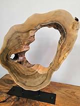 Dekorácie - Dekorácia z orechového dreva II. - 10464840_